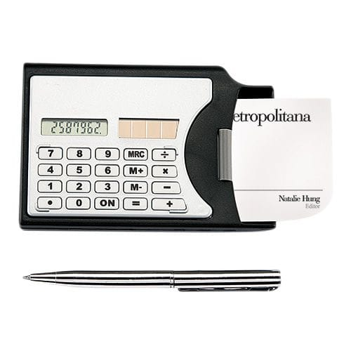 Calculadora Wallet código CT-1630 de Artículos Promocionales One Marketing