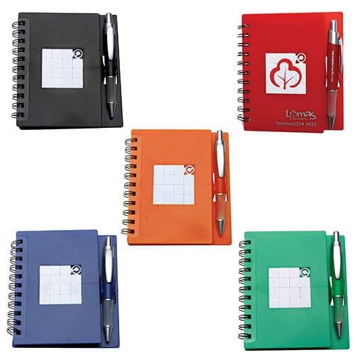 Libreta Puzzle código ESC-130-15 de Artículos Promocionales One Marketing