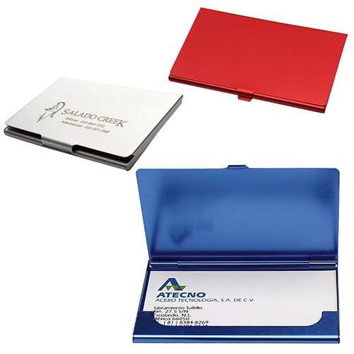 Porta Tarjetero Personal código ESC-860-15 de Artículos Promocionales One Marketing