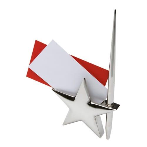 Porta Tarjetas con Pluma código ESC-863-15 de Artículos Promocionales One Marketing