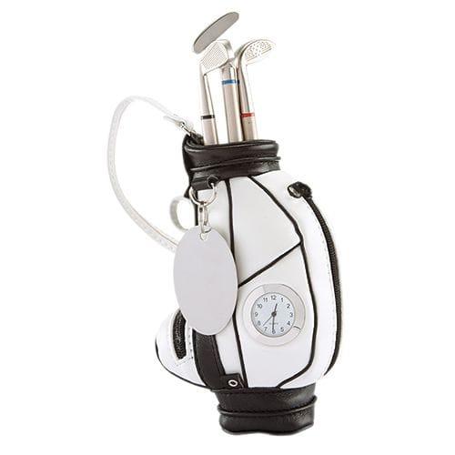 Reloj y Portaplumas Golf código GLF-01 de Artículos Promocionales One Marketing