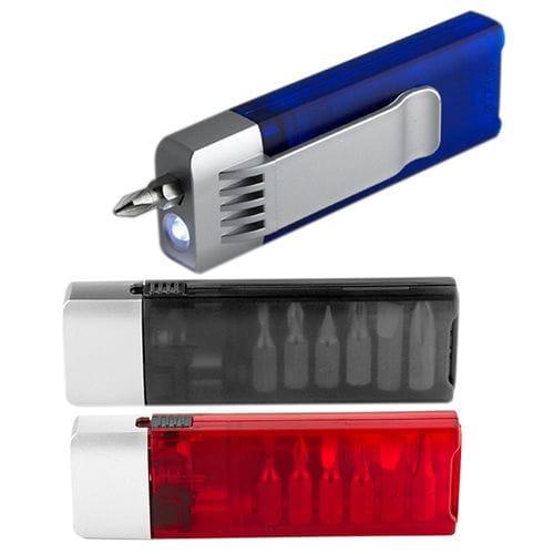 Desarmador con luz 6 P código HER-07 de Artículos Promocionales One Marketing
