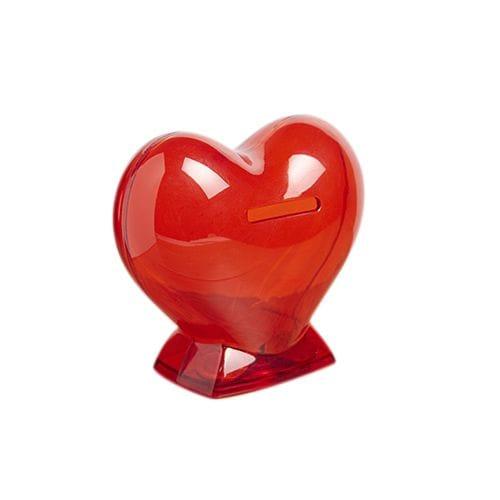 Alcancía Corazón código INF-035 de Artículos Promocionales One Marketing