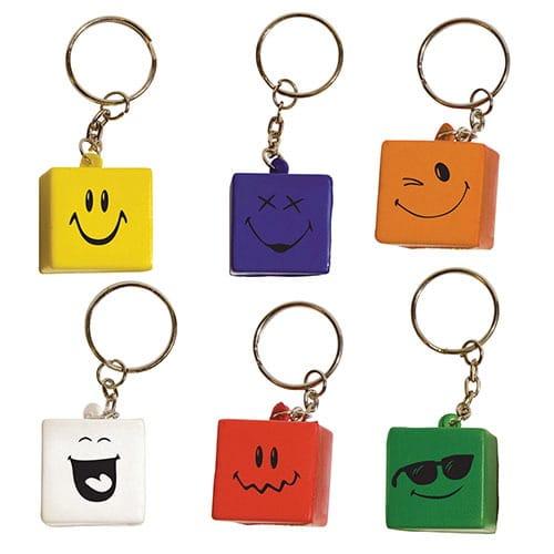 Llavero Cubic Faces código LLA-14-15F de Artículos Promocionales One Marketing