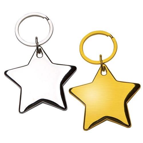 Llavero Estrella código LLA-23-15 de Artículos Promocionales One Marketing