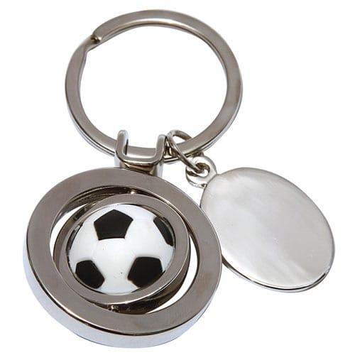 Llavero Steel Fútbol código LLA-31-15SOC de Artículos Promocionales One Marketing