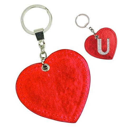 Llavero I Love U código LLA-43-15 de Artículos Promocionales One Marketing