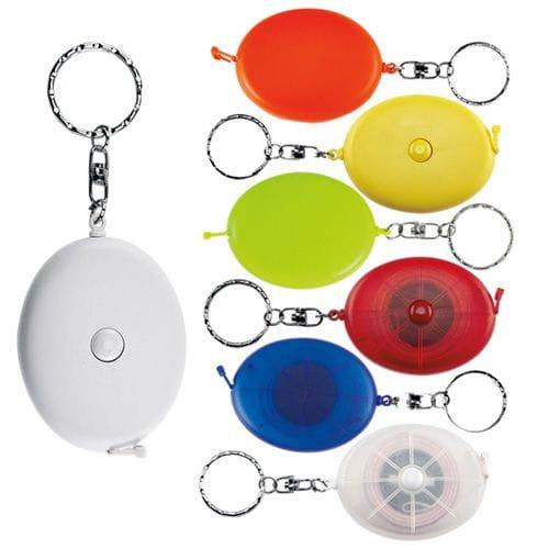 Llavero Flexómetro Oval código PRO-008 de Artículos Promocionales One Marketing