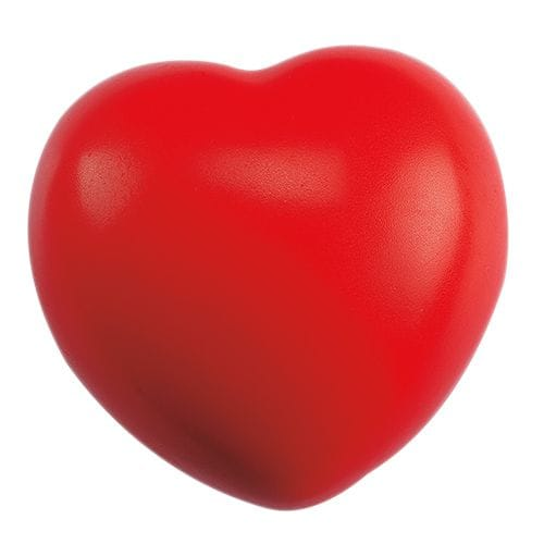Corazón Antiestrés código SOC-011-09 de Artículos Promocionales One Marketing