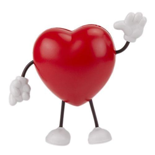 Antiestrés figura Corazón código SOC-068 de Artículos Promocionales One Marketing