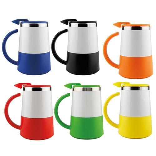 Taza Térmica Wake Cup código TMPS-201 de Artículos Promocionales One Marketing