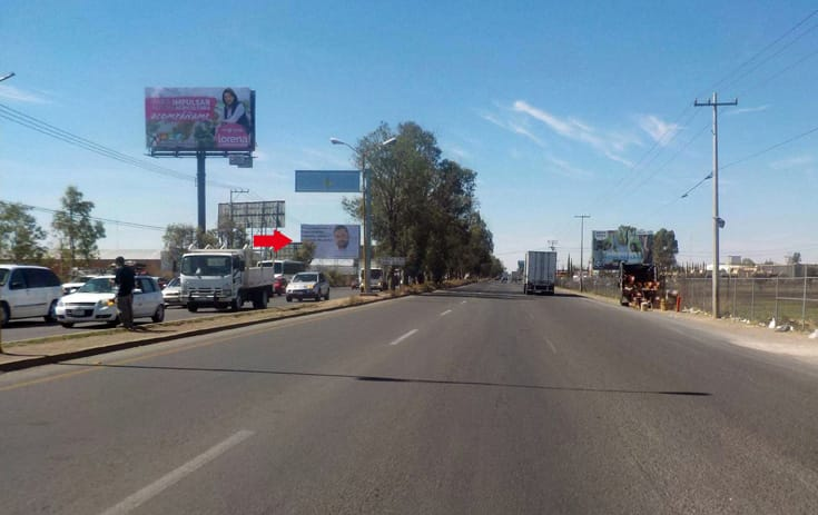 Espectacular AGS052S1 en Carr. a Zacatecas y 3er Anillo Km. 514, Talamantes Ponce, Aguascalientes de One Marketing