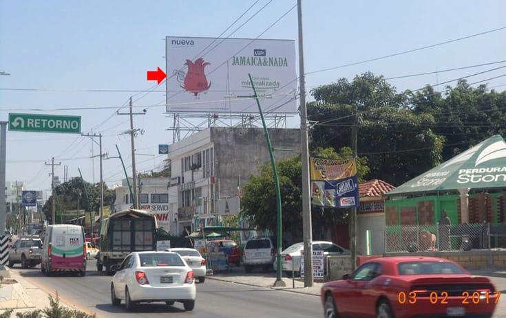 Espectacular CHS008S1 en Libramiento Sur Poniente #1509, Romero Rincón, Tuxtla Gutiérrez de One Marketing