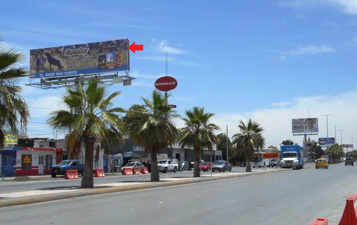 Espectacular COA022P1 en Villa California, Torreón, Coahuila de One Marketing