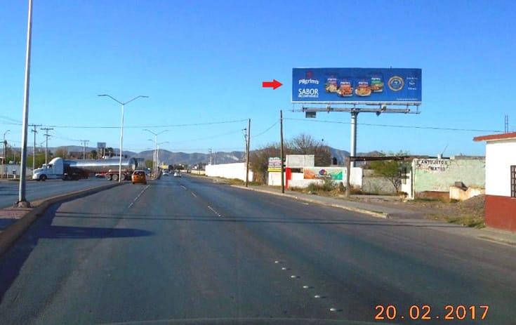 Espectacular COA030N1 en Ejido Ignacio Allende, Torreón, Coahuila de One Marketing