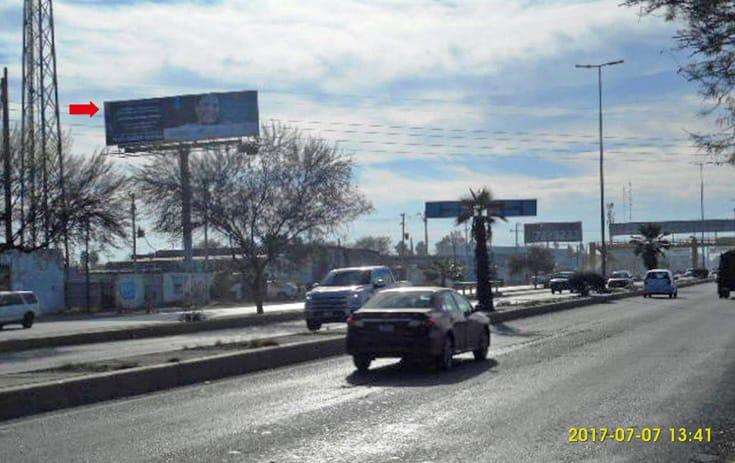 Espectacular COA033N1 en Torreón, Coahuila de One Marketing