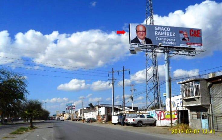 Espectacular COA033S1 en Fidel Vázquez, Torreón de One Marketing