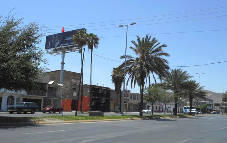 Espectacular COA034N1 en Blvd. Independencia #1233, Centro, Torreón de One Marketing