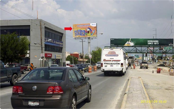 Espectacular COA-153 en Col. Latinoamericana, Saltillo, Coahuila de One Marketing