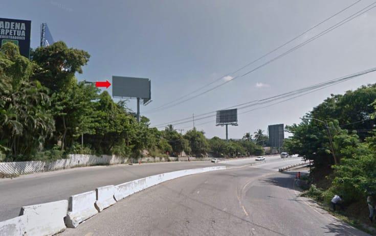 Espectacular GRO007P1 en Blvd. de Las Naciones. Lote Rch 2-A, Vista Las Brisa, Acapulco de One Marketing