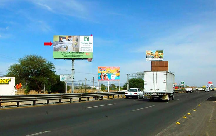 Espectacular GTO022N1 en Nuevo México, Silao de One Marketing