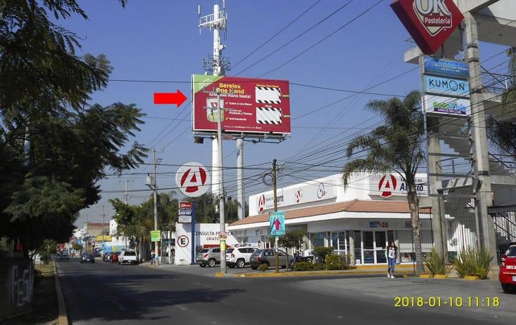 Espectacular JAL017O1 en Los Hornos, Guadalajara, Jalisco de One Marketing