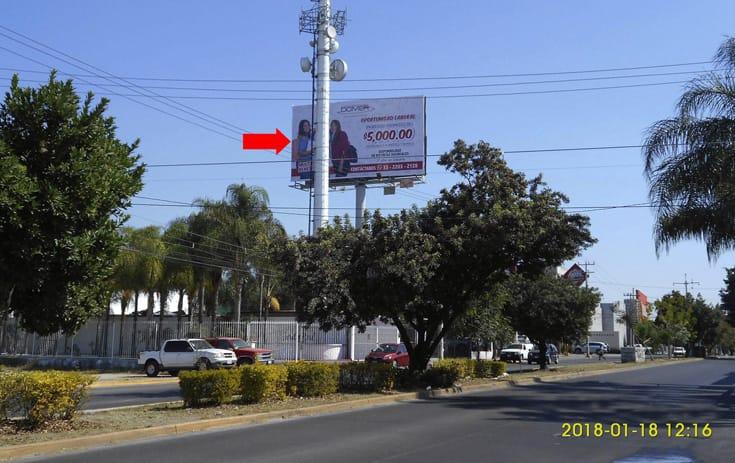 Espectacular JAL017P1 en Los Hornos, Guadalajara, Jalisco de One Marketing