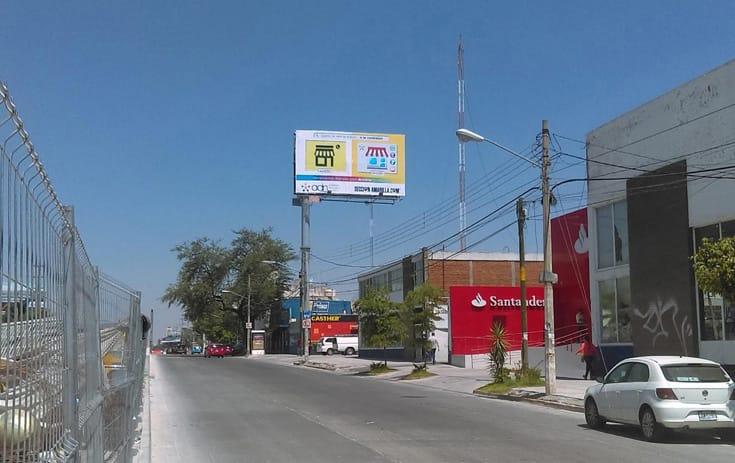 Espectacular JAL019O1 en U Habitacional Ramón Corona, Guadalajara, Jalisco de One Marketing