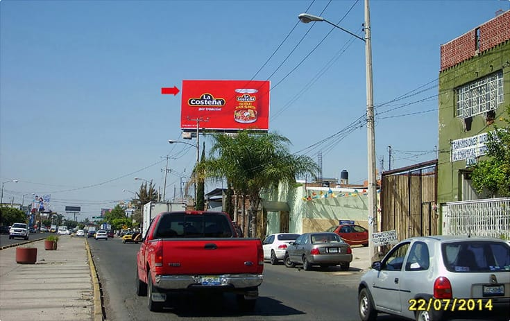 Espectacular JAL028N1 en Plutarco Elías Calles #1233, Potrero Alto, Guadalajara de One Marketing