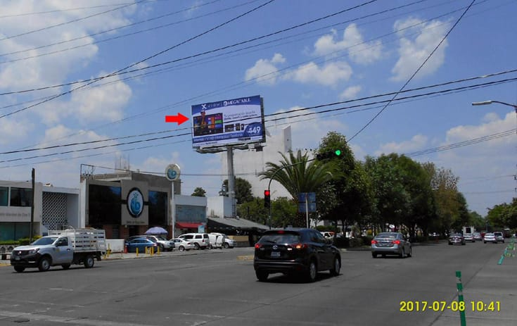 Espectacular JAL036P1 en Guadalajara, Jalisco de One Marketing