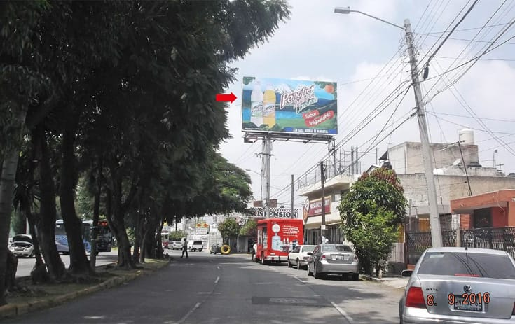 Espectacular JAL043O1 en Guadalajara, Jalisco de One Marketing