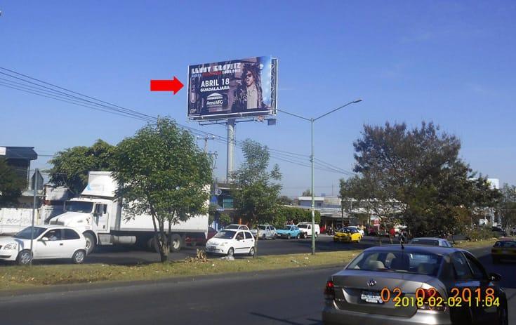 Espectacular JAL047S1 en Guadalajara, Jalisco de One Marketing