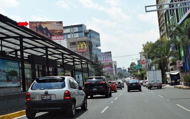 Espectacular MDF029N1 en Av Cuauhtémoc #508, Vertiz Narvarte, Benito Juárez de One Marketing