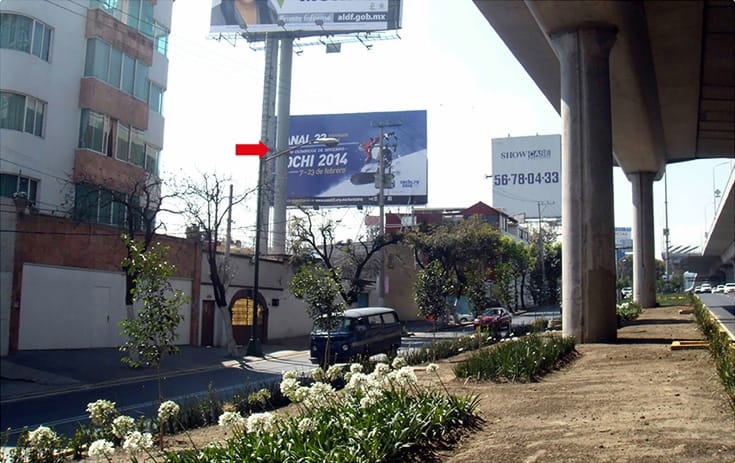 Espectacular CDMX-117 en Col. Isidro Fabela, Tlalpan de One Marketing