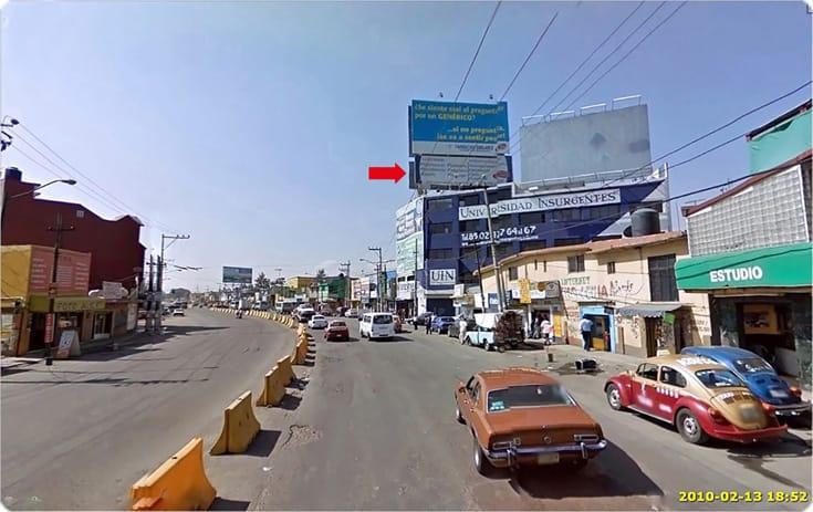 Espectacular MDF046P2 en San Lorenzo Tezonco, Iztapalapa, Ciudad de México de One Marketing