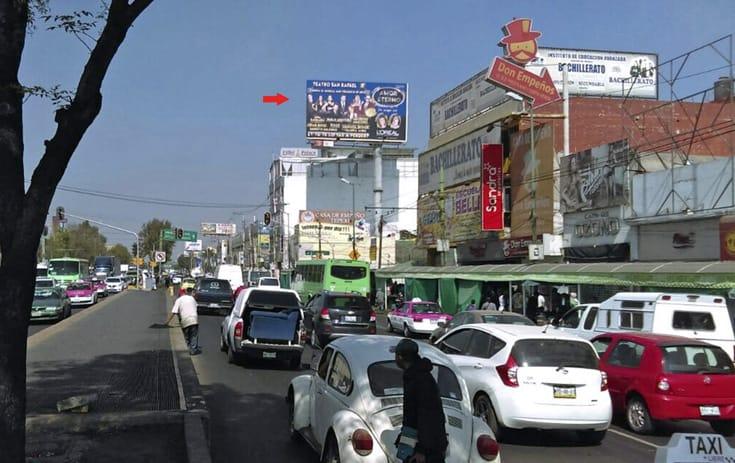 Espectacular MDF083O1 en Iztapalapa, Ciudad de México de One Marketing