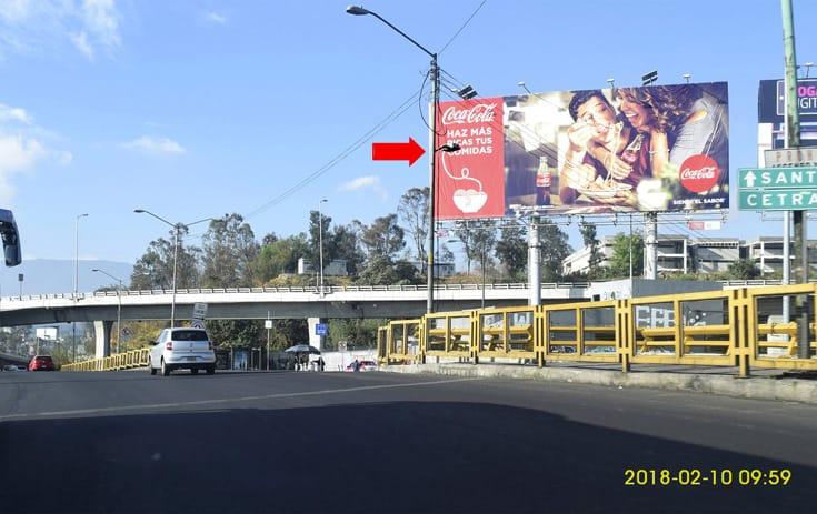 Espectacular MDF102N1 en Lomas de Besares, Álvaro Obregón, Ciudad de México de One Marketing