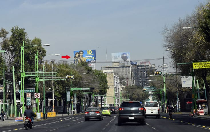Espectacular MDF123S1 en Cuauhtémoc, Ciudad de México de One Marketing
