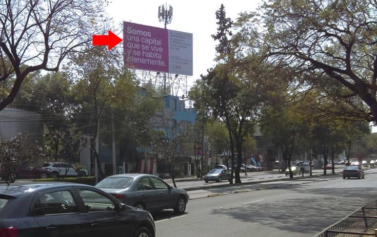 Espectacular MDF148N1 en Álvaro Obregón, Ciudad de México de One Marketing