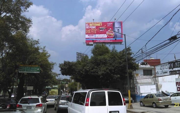 Espectacular MDF173P1 en San Bartolo El Chico, Xochimilco de One Marketing