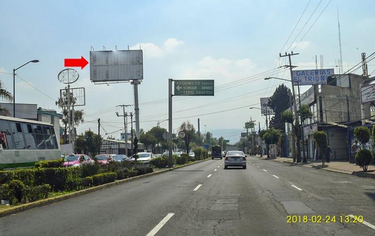 Espectacular MDF181N1 en Xochimilco, Ciudad de México de One Marketing