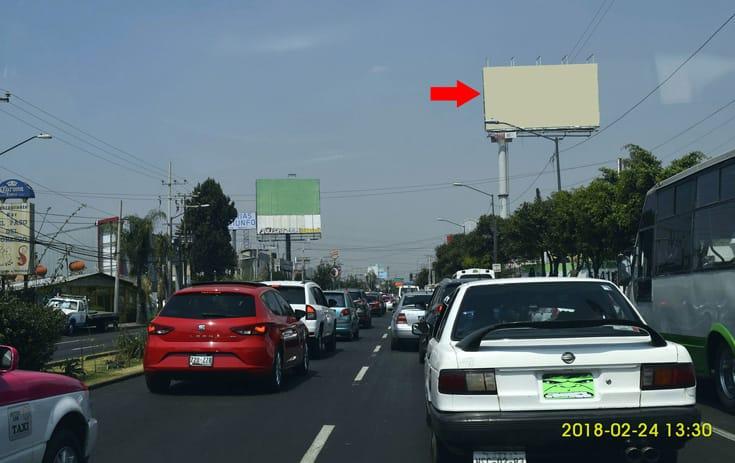 Espectacular MDF181S1 en Prol. División de Norte #5026, San Bernardino, Xochimilco de One Marketing