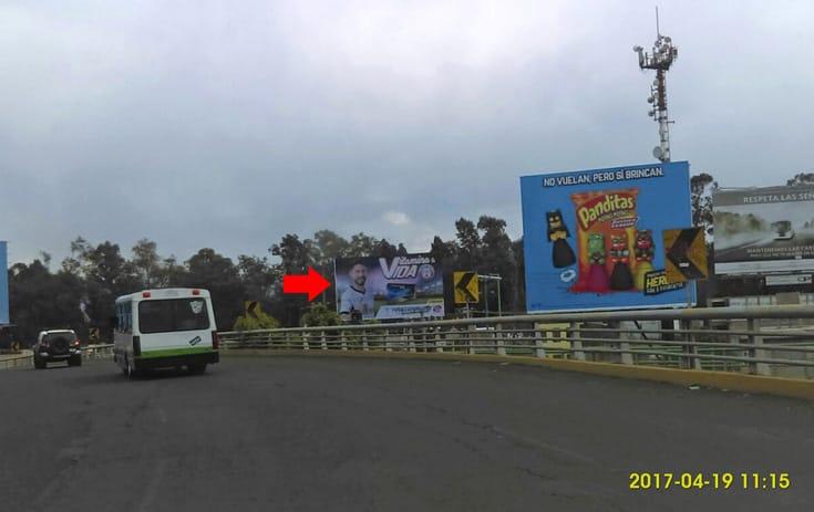 Espectacular MDF189N1 en San Bartolo El Chico, Xochimilco de One Marketing