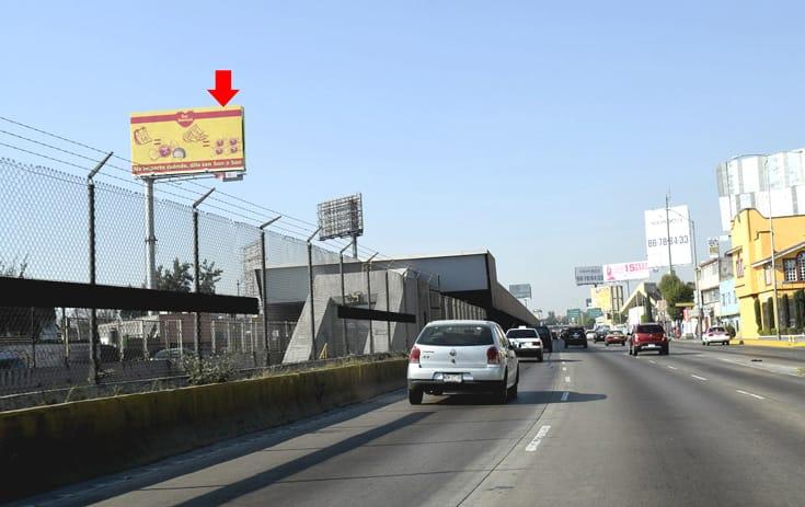 Espectacular MDF210O1 en Venustiano Carranza, Ciudad de México de One Marketing