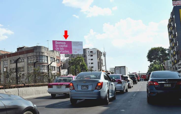 Espectacular MDF211N1 en Cuauhtémoc, Ciudad de México de One Marketing