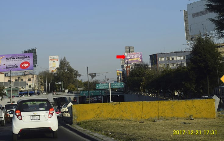 Espectacular CDMX-115 en Col. Tacubaya, Miguel Hidalgo de One Marketing