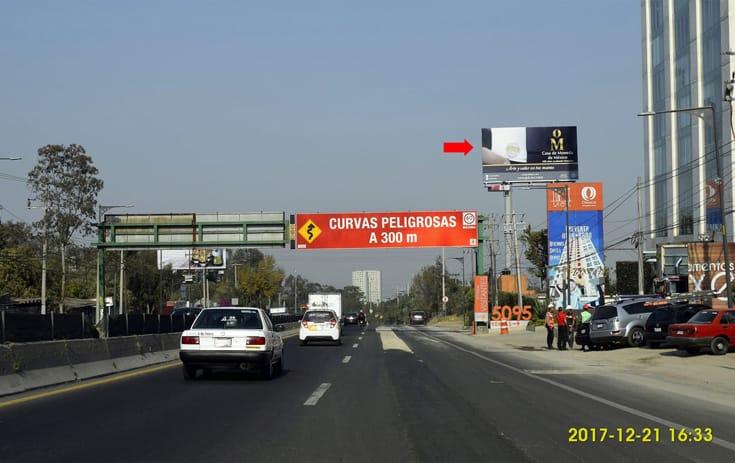 Espectacular CDMX-67 en Cuajimalpa, Ciudad de México de One Marketing