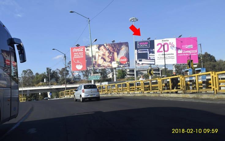 Espectacular MDF312N1 en Álvaro Obregón, Ciudad de México de One Marketing