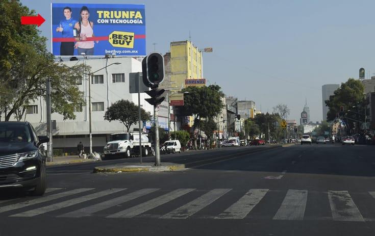 Espectacular MDF352O1 en Cuauhtémoc, Ciudad de México de One Marketing