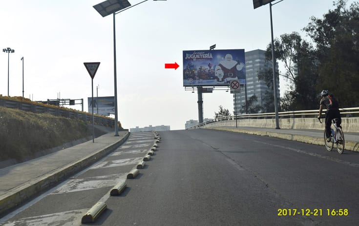 Espectacular MDF411O1 en Álvaro Obregón, Ciudad de México de One Marketing